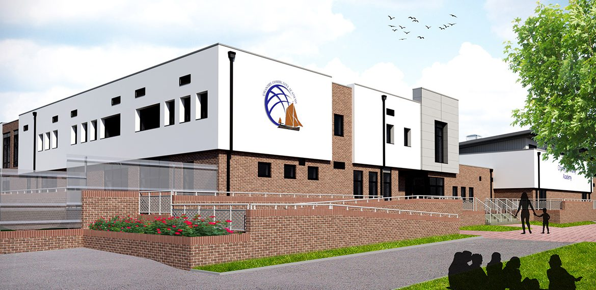 Architectural design in Kent for Community College