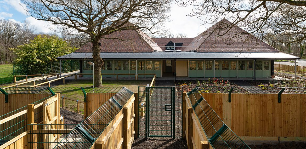 Design development, planning and technical delivery of a new intake facility at the Dog's Trust Canterbury
