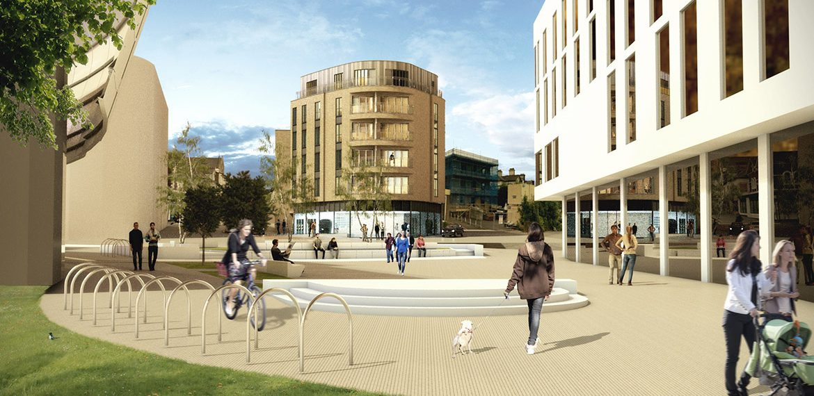 Architects Practice, Town Centre private sector residential development in Ashford