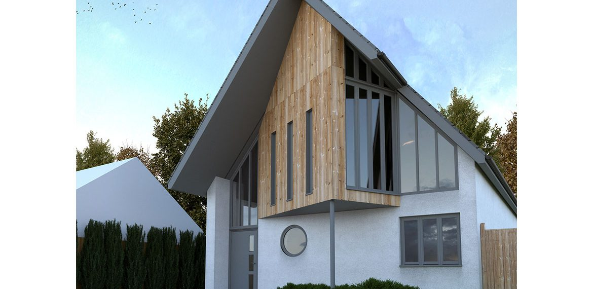 Architects for bungalow redevelopment in Whitstable