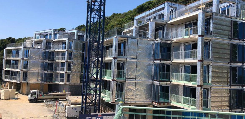 Architectural design for luxury se side development