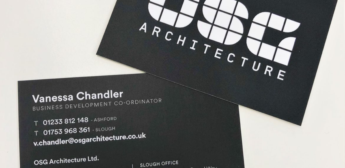 rebrand business cards
